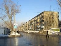 Новосибирск, улица Промышленная, дом 18. многоквартирный дом