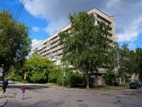 Novosibirsk, st Revolyutsii, house 28. Apartment house