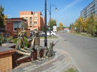 """Новосибирск, улица Холодильная. скульптурная композиция """"Прощание"""""""