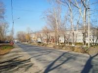 Novosibirsk, st Magistralnaya, house 16. school