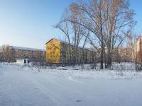Новосибирск, улица Макаренко, дом 14. многоквартирный дом