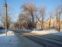 Novosibirsk, st Novouralskaya, house 10. school