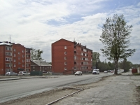 Novosibirsk, st Ob'edineniya, house 12. Apartment house