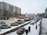 Novosibirsk, st Ob'edineniya, house 23. Apartment house