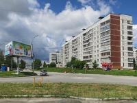 Новосибирск, улица Рассветная, дом 10. многоквартирный дом