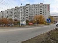 Новосибирск, улица Столетова, дом 25. многоквартирный дом