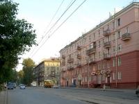 Новосибирск, улица Учительская, дом 5. многоквартирный дом