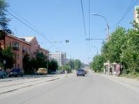 Новосибирск, улица Учительская, дом 7. многоквартирный дом
