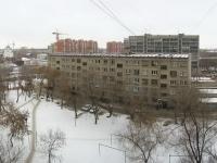 Новосибирск, улица Учительская, дом 21. многоквартирный дом
