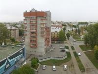 Новосибирск, улица Учительская, дом 44. многоквартирный дом