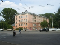 Новосибирск, улица Мира, дом 1. школа №47 им. М.Ф. Михина