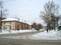 Новосибирск, улица Лобова, дом 9. многоквартирный дом