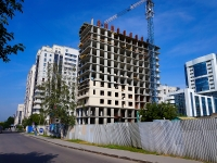 Novosibirsk, st Sadovaya, house 20. building under construction