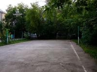 Новосибирск, улица Садовая. спортивная площадка Волейбольная площадка