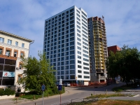 Novosibirsk, st Sakko i Vantsetti, house 25. Apartment house