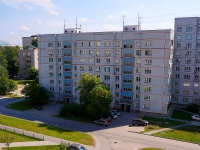 Novosibirsk, st Sakko i Vantsetti, house 48. Apartment house