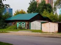 Novosibirsk, st Sakko i Vantsetti, house 67. Private house