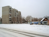 Новосибирск, улица Марата, дом 1. многоквартирный дом