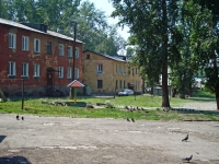 Новосибирск, улица Брюсова, дом 3. многоквартирный дом