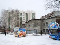 Новосибирск, улица Эйхе, дом 9. пожарная часть