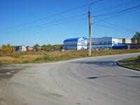 Новосибирск, улица Приграничная, дом 1/2. офисное здание