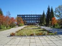 Новосибирск, улица Приграничная, дом 1. офисное здание