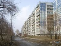Novosibirsk, st Pechatnikov, house 9. Apartment house