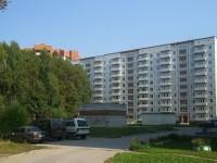 Новосибирск, улица Пирогова, дом 28. многоквартирный дом
