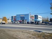 """Новосибирск, улица Русская, дом 1. торговый центр """"Маяк"""""""