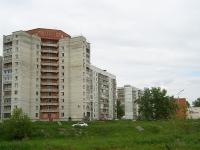 Новосибирск, улица Русская, дом 11/1. многоквартирный дом