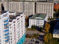 """Новосибирск, улица Ломоносова, дом 57А. офисное здание БЦ """"Ломоносов"""""""