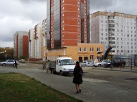 Новосибирск, улица Некрасова, дом 35. многоквартирный дом
