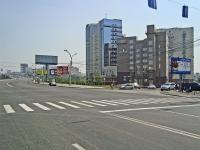Новосибирск, улица Октябрьская магистраль, дом 2. офисное здание