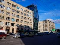 Новосибирск, улица Октябрьская магистраль, дом 3. офисное здание
