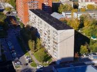 Новосибирск, улица Ольги Жилиной, дом 58. многоквартирный дом