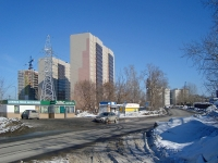Novosibirsk, st Sukharnaya, house 76/1. Apartment house