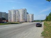 Новосибирск, улица Тайгинская, дом 24. многоквартирный дом