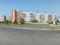 Novosibirsk, Tyulenin st, house 1. Apartment house