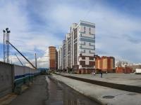 Novosibirsk, st Tyulenin, house 28/1. Apartment house