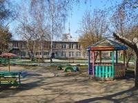 Новосибирск, Телевизионный 1-й переулок, дом 4/1. детский сад №286, Полянка