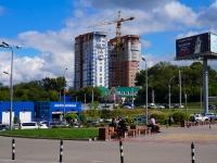Novosibirsk, st Topolevaya, house 5. building under construction