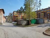 Новосибирск, улица Тенистая, дом 5. многоквартирный дом