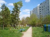 Новосибирск, улица Тружеников, дом 9. многоквартирный дом