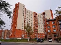 Новосибирск, улица Фабричная, дом 22. многоквартирный дом
