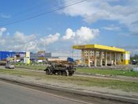 Новосибирск, проезд Энергетиков, дом 3. автозаправочная станция