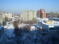Novosibirsk, st Fedoseev, house 36. Apartment house