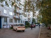 Новосибирск, улица Федосеева, дом 10. многоквартирный дом