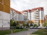 Новосибирск, улица Федосеева, дом 3. многоквартирный дом