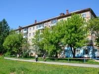 Пермь, улица Ушинского, дом 4. жилой дом с магазином