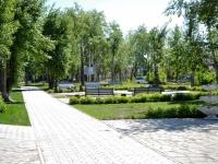 Пермь, улица Краснополянская. парк